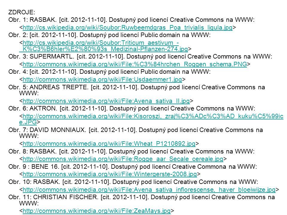 ZDROJE: Obr. 1: RASBAK. [cit. 2012-11-10]. Dostupný pod licencí Creative Commons na WWW: